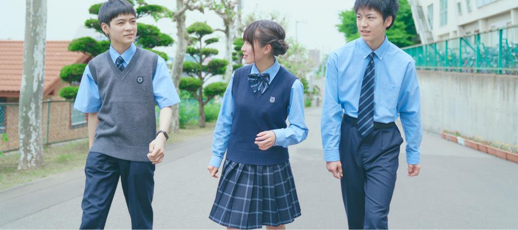 【写真】北海道の好きな制服堂々一位の高校!