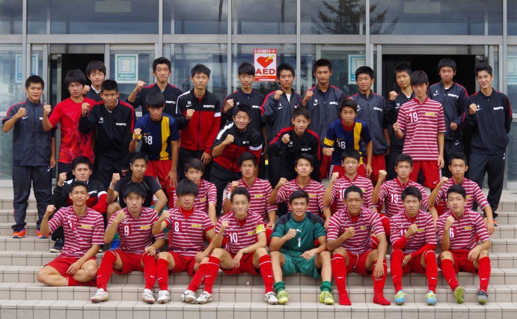 サッカー部 高円宮杯 U-18サッカーリーグ2016北海道札幌ブロックリーグ2部優勝&1部昇格決定!
